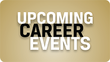 Upcoming Career Events
