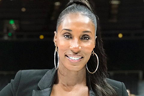headshot of Lisa Leslie