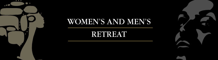 Women's and Mens Retreat Banner