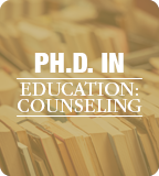 Ph.D. in Counseling Web Button