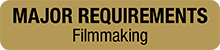 "button with the text ""Major Requirements Filmmaking"""