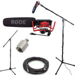 RØDE VideoMic and Studio Boom Kit