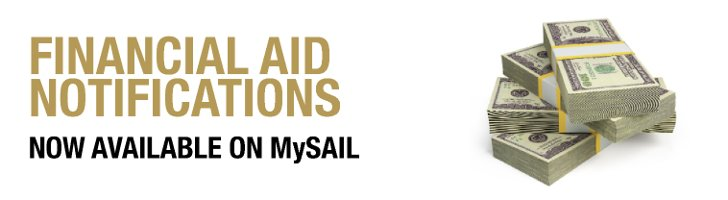 2017-2018 Financial Aid Notifications Now Available on MySAIL