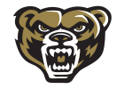 Oakland University Grizz head logo