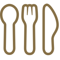 Campus Dining Icon - Spoon, Fork & Knife#elseIcon for this category