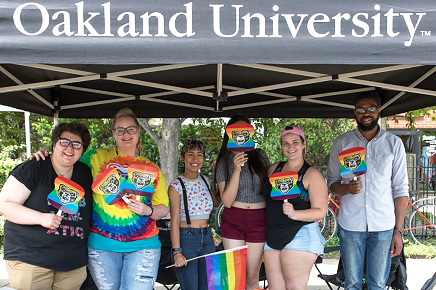 OU GSC at Ferndale Pride