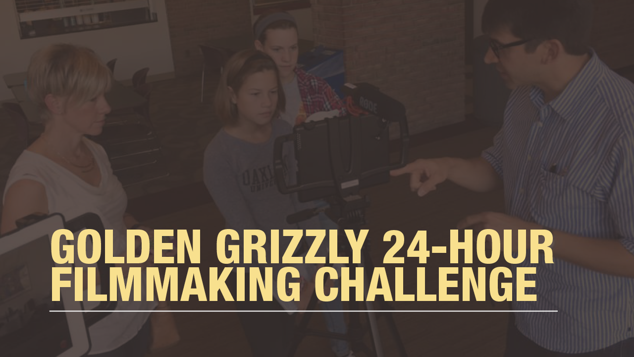 2016 Golden Grizzly 24-Hour Filmmaking Challenge