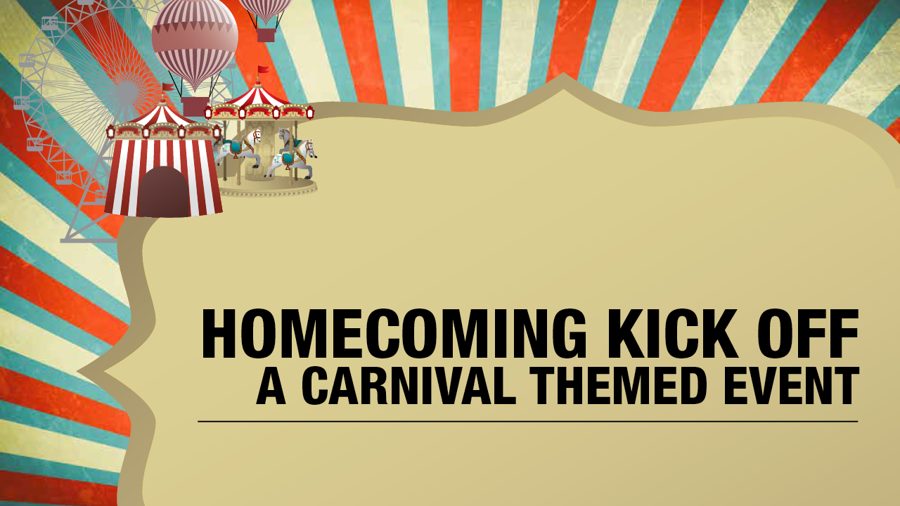 2016 Homecoming Kickoff Carnival