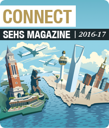Connect - 2016-17 School of Education and Human Services Magazine Web Graphic