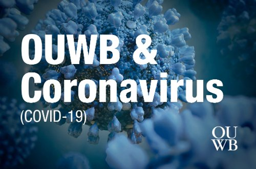 Coronavirus information for the OUWB community