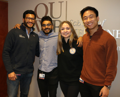 An image of the OUWB Medical Student Government Executive Board 2020-21