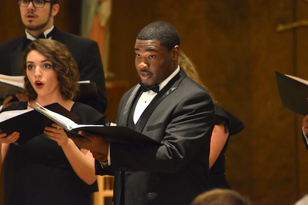 Oakland singers perform in concert