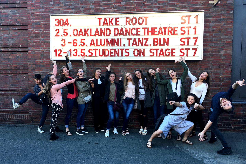 Wonderful Oakland University Dancers And Take Root Display U0027top Notchu0027 Talent In  Berlin