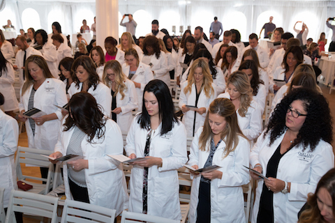School of Nursing among select group chosen for White Coat Ceremony funding