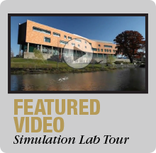 Take a Tour - Simulation Lab in the Human Health Building