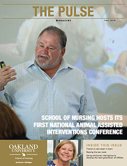 Issue of Pulse Magazine, School of Nursing, Fall 2016.