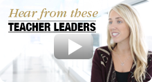 Teacher Leadership Video Button