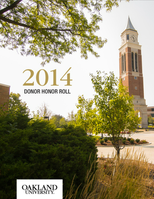 O U Magazine - 2014 Donor Honor Roll Edition Z Mag