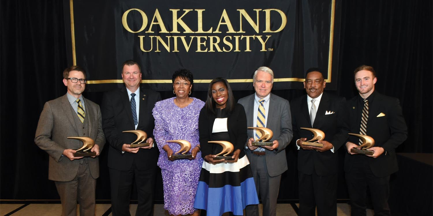 Featured image for OUAA Honors Seven Outstanding Alumni at Annual Banquet