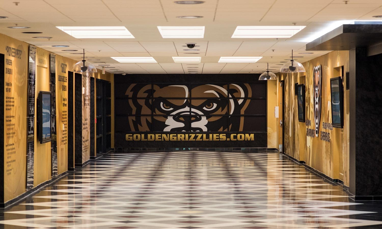 Featured image for Oh-Rena! TVs, graphics greet Grizzly fans