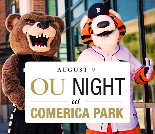 OU Night at Comerica Park