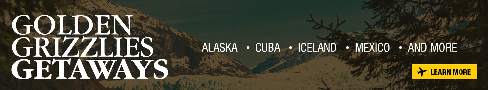 Oakland University Golden Grizzlies Getaways - Alaska, Cuba, Iceland, Mexico, and more.