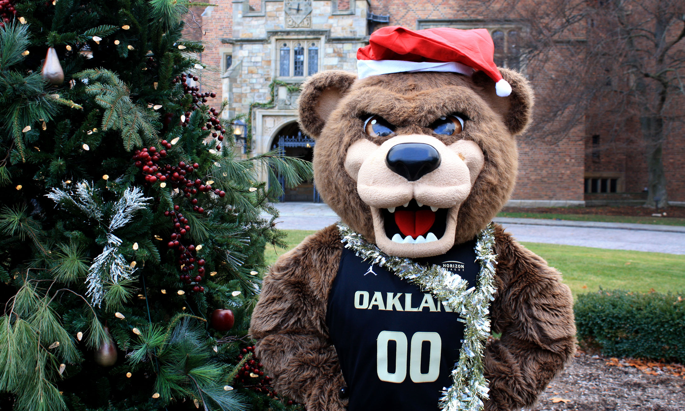 Grizz at Meadow Brook Holiday Walk