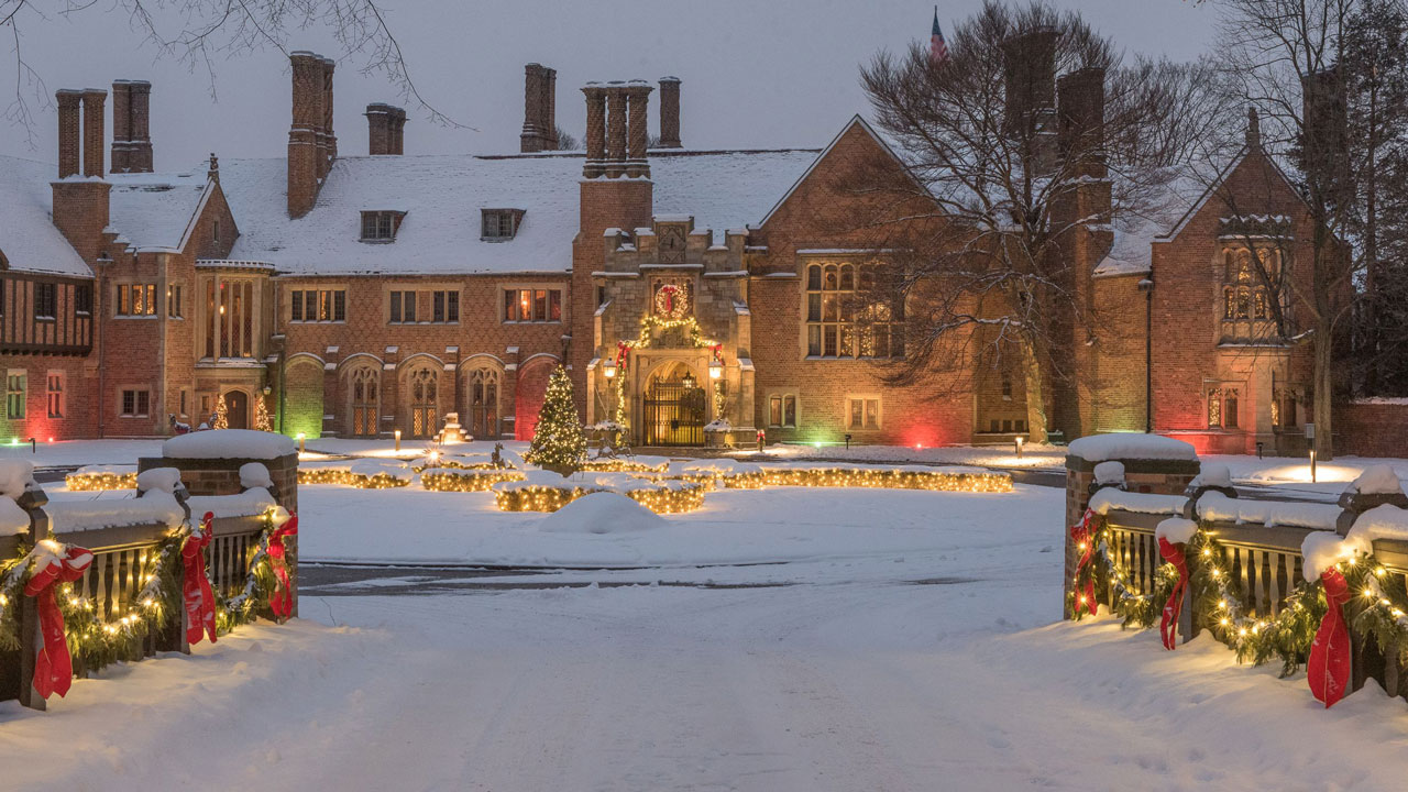 Experience the wonder of Meadow Brook Hall's Holiday Walk Nov. 29-Dec. 23