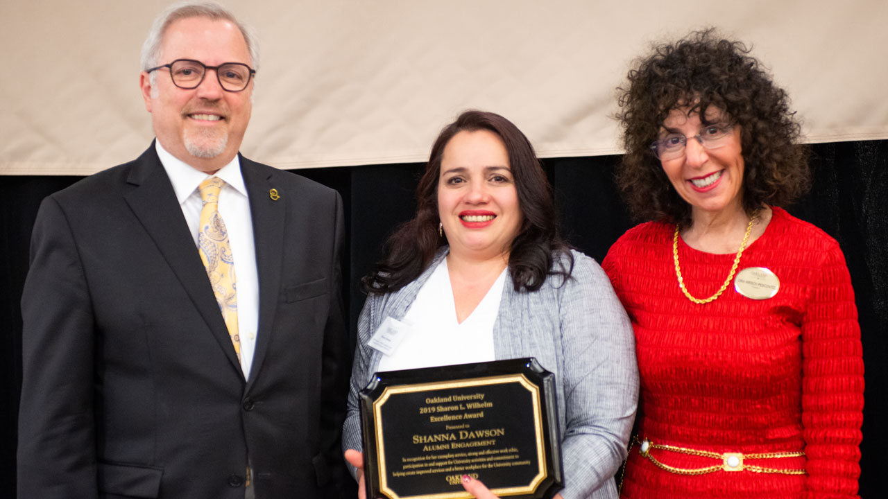 Alumni Engagement employee receives Wilhelm Excellence Award