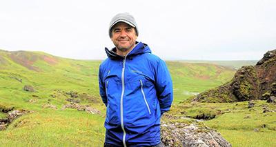 Scott Tiegs in Iceland