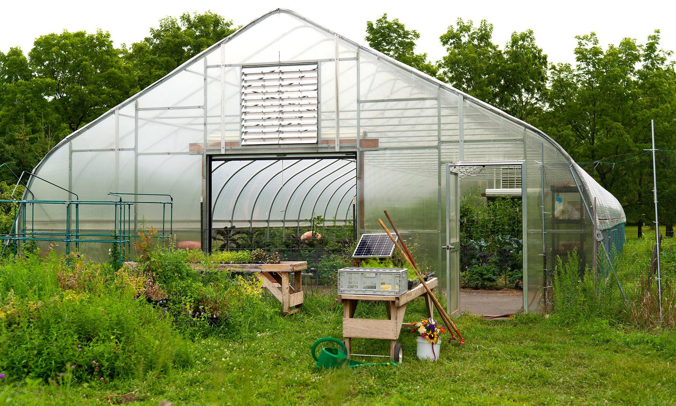 Campus Student Organic Farm crowdfunding campaign