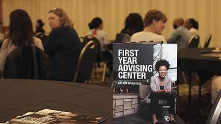 First Year Advising Center is helping students succeed
