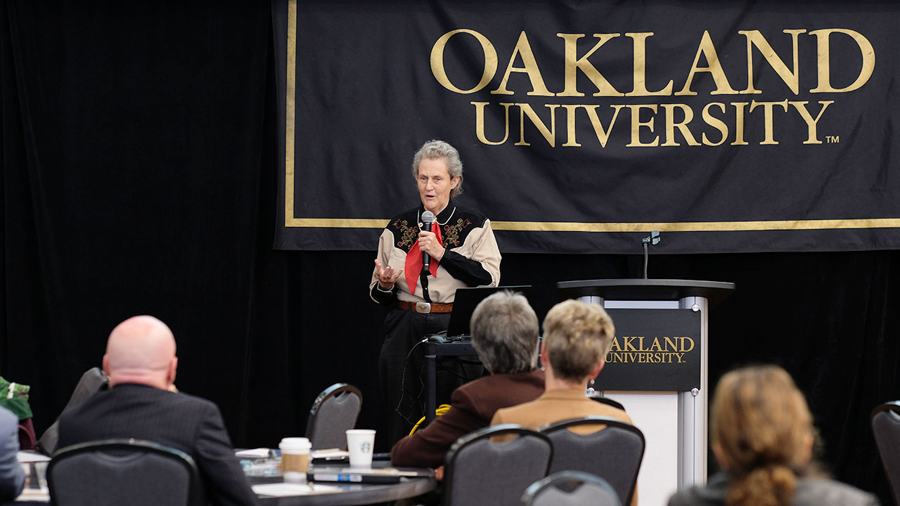 Autism expert Temple Grandin shares inclusive message at OU