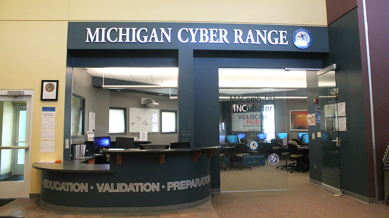 Macomb-OU Incubator - Cybersecurity program