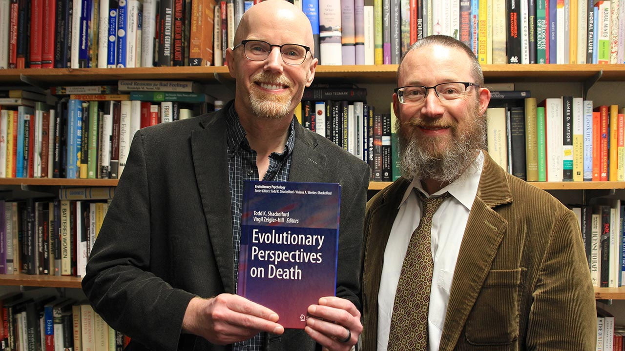 Psychology professors delve into death with latest work
