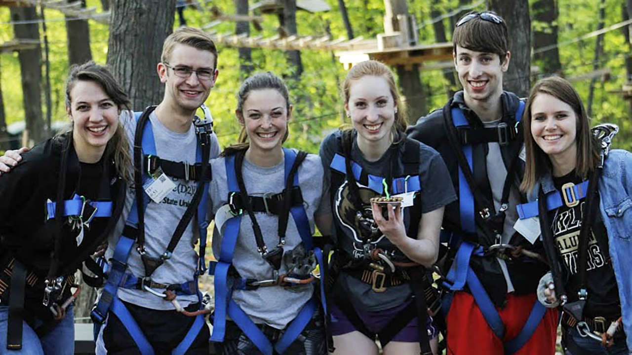 TreeRunner, an aerial adventure park, now open on OU campus