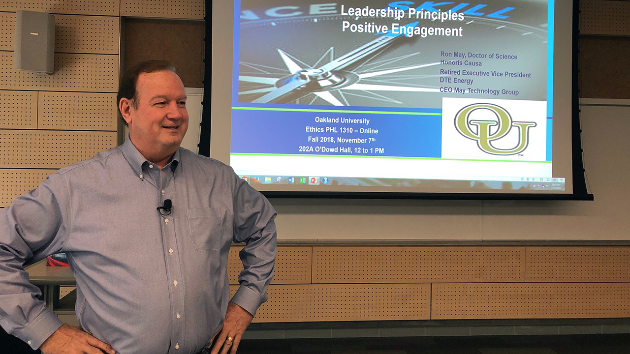 Teaching Engineers Leadership Principles and Positive Engagement