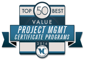 Top 50 Best Value Project Management Cert
