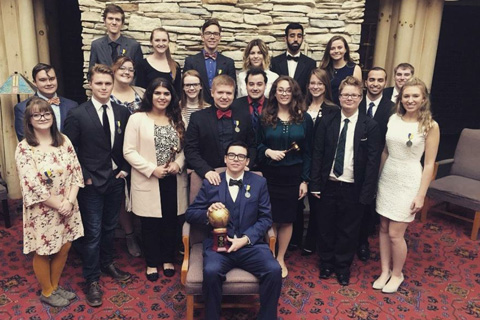 Model United Nations team wins Lake Erie conference for third straight year