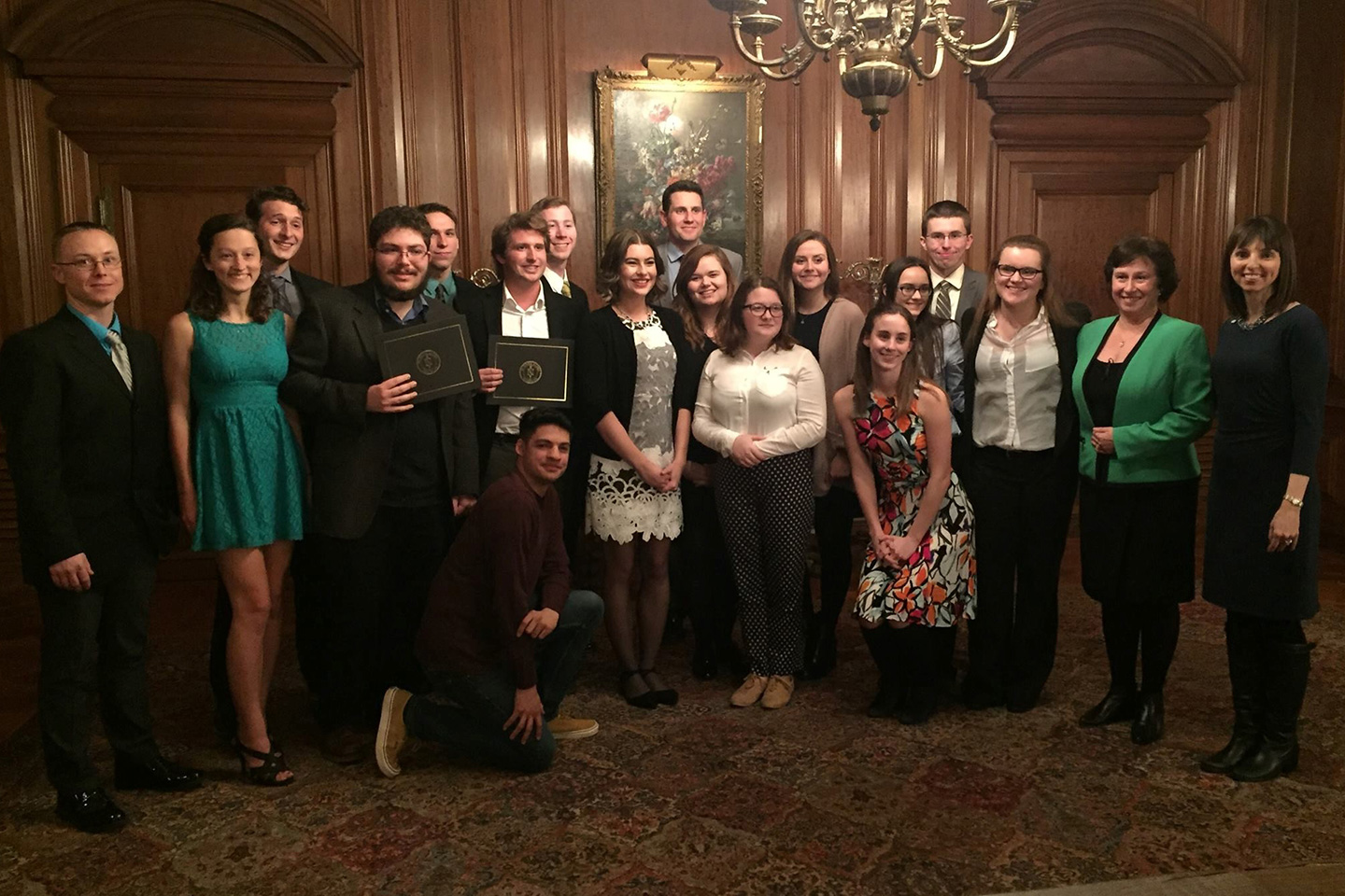 OU wins fourth straight Best Chapter Award from national political science honor society