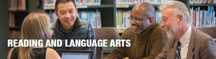 Reading and Language Arts Web Banner