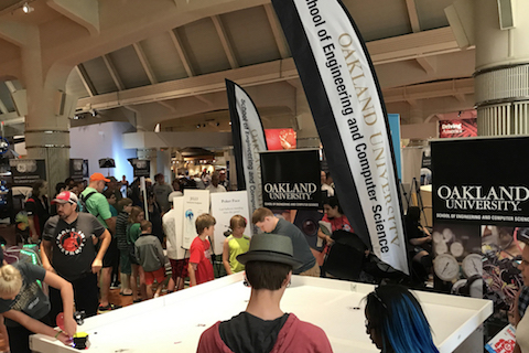 Oakland University shines at this year's Maker Faire