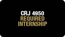 CRJ 4950 Required Internship