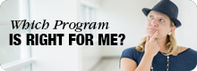 Which Program is Right for Me Button