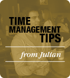 Time Management Tips from Julian