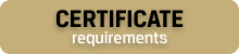 Certificate Requirements
