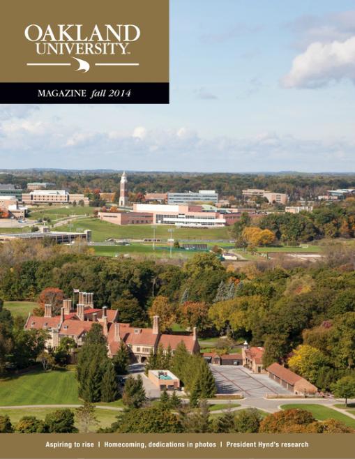 O U Magazine - Fall 2014 Edition Z Mag
