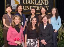 Women in STEM fields at OU